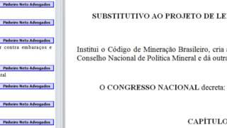 Imagem do arquivo original do projeto de lei. Crédito: BBC Brasil.