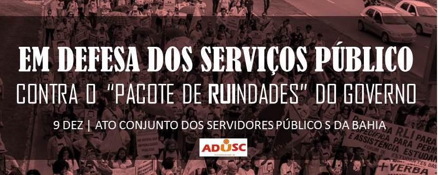 Imagem: Associação de Docentes da UESC.