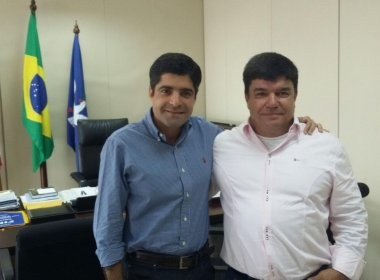 ACM Neto e João Gomes. Imagem: