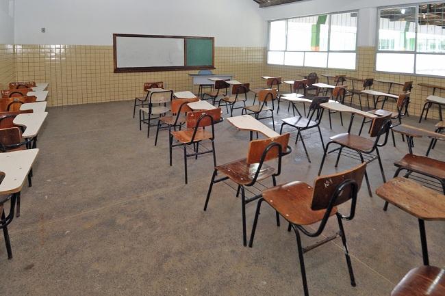 Escola Prof Flávio Simões  reinagurada ano passado pela Prefeitura de Itabuna - Foto Pedro Augusto