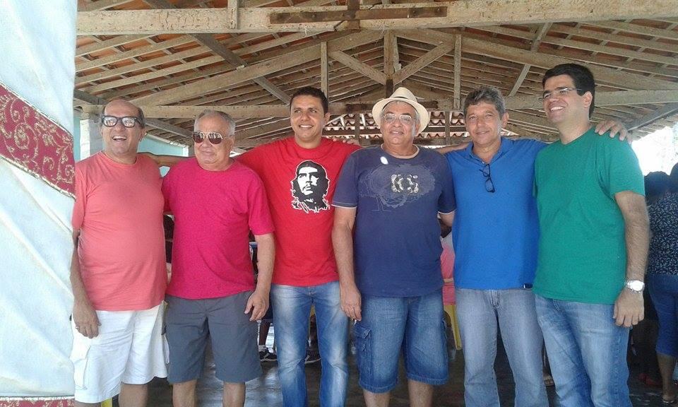 José Nazal, José Henrique Abobreira, Jerberson Josué, Ruy Carvalho, Alisson Mendonça e Vivaldo Mendonça. Imagem: Thiago Dias/Blog do Gusmão.