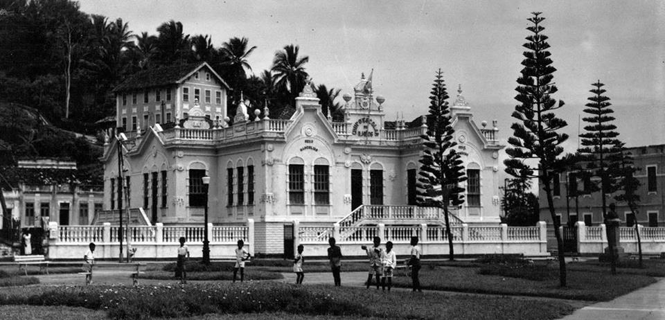 Antigo Colégio Municipal General Osório. Imagem: Acervo de José Nazal.