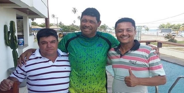 João Gomes, Apóstolo Valdomiro Santiago e Cláudio Cardoso.