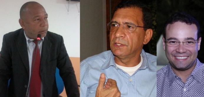 Nerival Reis, Jabes Ribeiro e Victor da Veiga.
