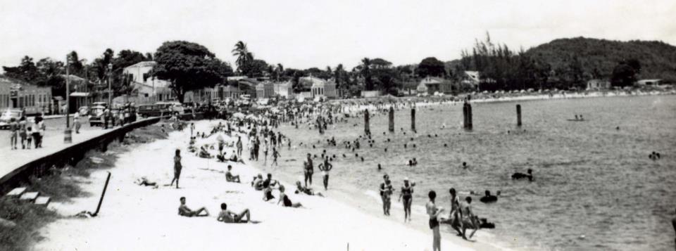 Praia do Pontal. Imagem de 1966, autor desconhecido.