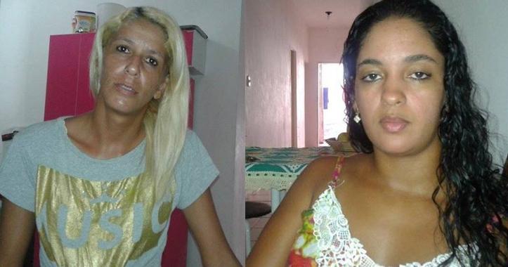 Thatiana Carneiro e Luana Mendes.
