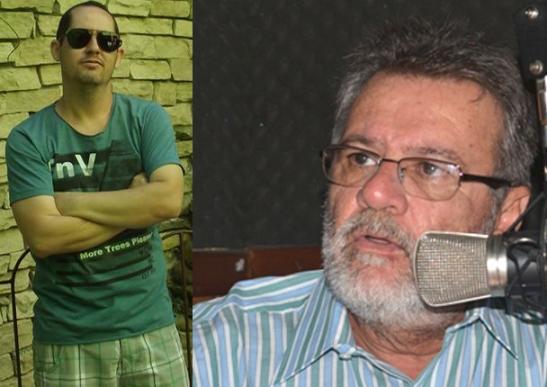 Arnaldo Souza e Isaac Albagli. Imagens: Facebook e O Tabuleiro.