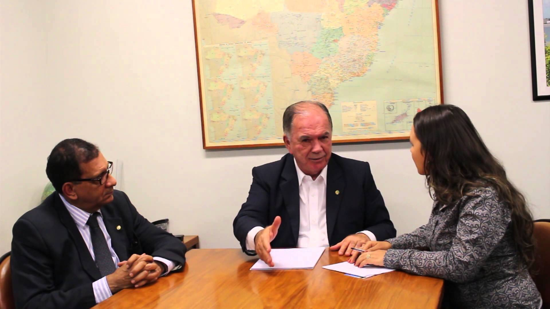 Jabes Ribeiro e João Leão.  Imagem: Youtube/reprodução.