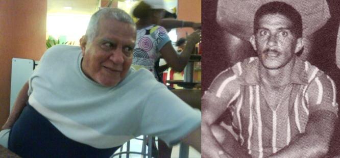 A imagem à esquerda, registrada pelo jornalista Ricardo Ribeiro no dia 30 de maio de 2008, mostra Léo Briglia no Shopping Jequitibá. Na antiga, ele aparece com a camisa do Bahia.