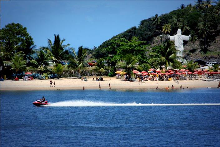 Praia do Cristo.