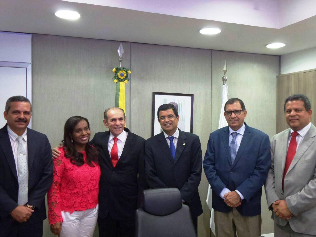 Ministro da Saúde recebeu comitiva do sul da Bahia.