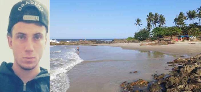 Harrison tinha 20 anos e morreu afogado na Praia da Concha.