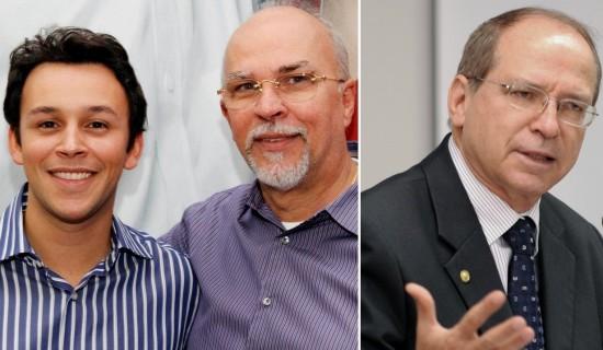 Mário Negromonte, Mário Negromonte Júnior e Roberto Britto teriam sido beneficiados por dinheiro desviado da Petrobras.
