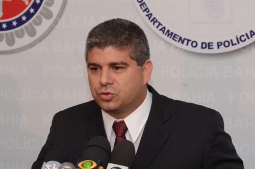 Maurício Barbosa, secretário de segurança pública da Bahia.