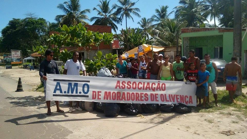 Iniciativa reuniu moradores de Olivença nesse domingo.