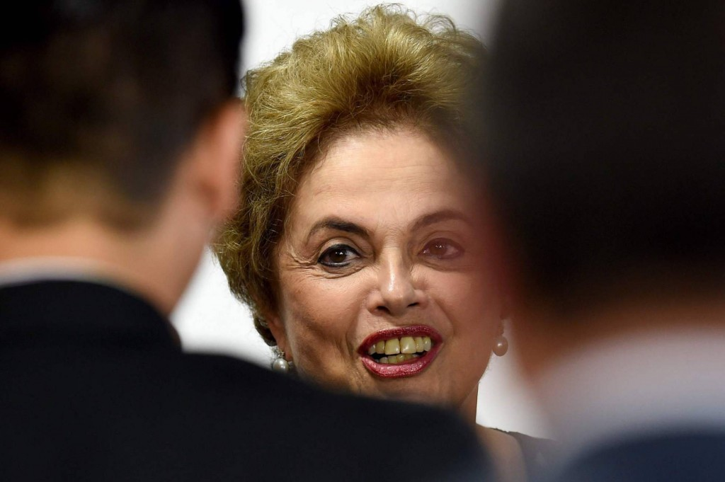 Presidente Dilma. Imagem: EVARISTO SA AFP.