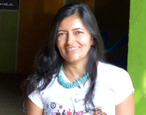 Professora Elba Karla.