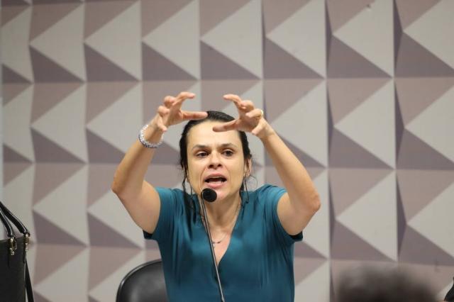 Advogada e professora Janaina Paschoal. Imagem: Andre Dusek/Estadão.
