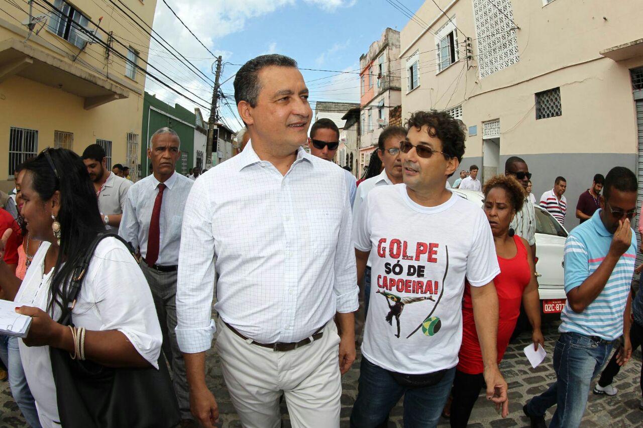 Governador Rui Costa. Imagem: Pedro Moraes/GOVBA.