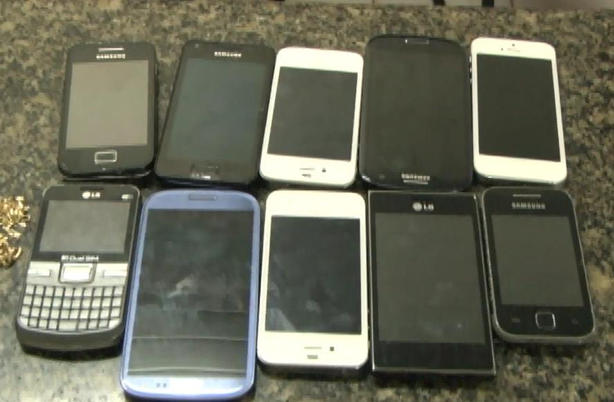 celulares roubados