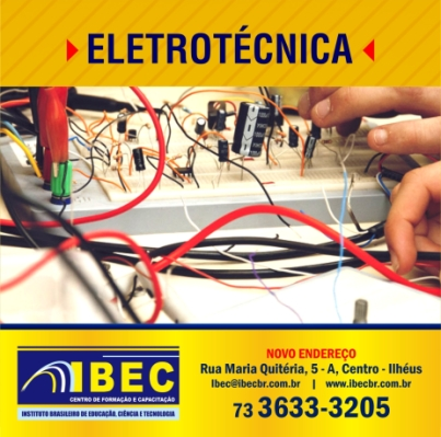 IBEC já formou nove turmas de eletrotécnicos em Ilhéus.