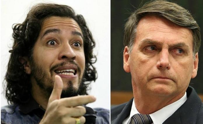 Deputados Jean Wyllys e Jair Bolsonaro.
