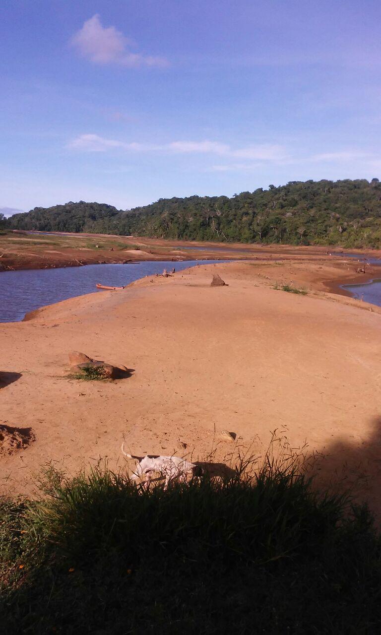 Represa Iguape. Imagem: Blog Agravo.