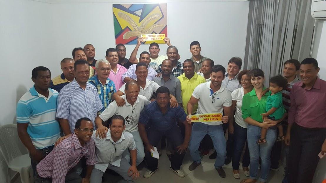 Reunião da executiva municipal do PSB. Imagem: Blog Agravo.