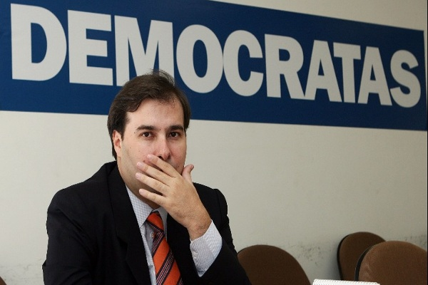 Presidente da Câmara dos Deputados, Rodrigo Maia.