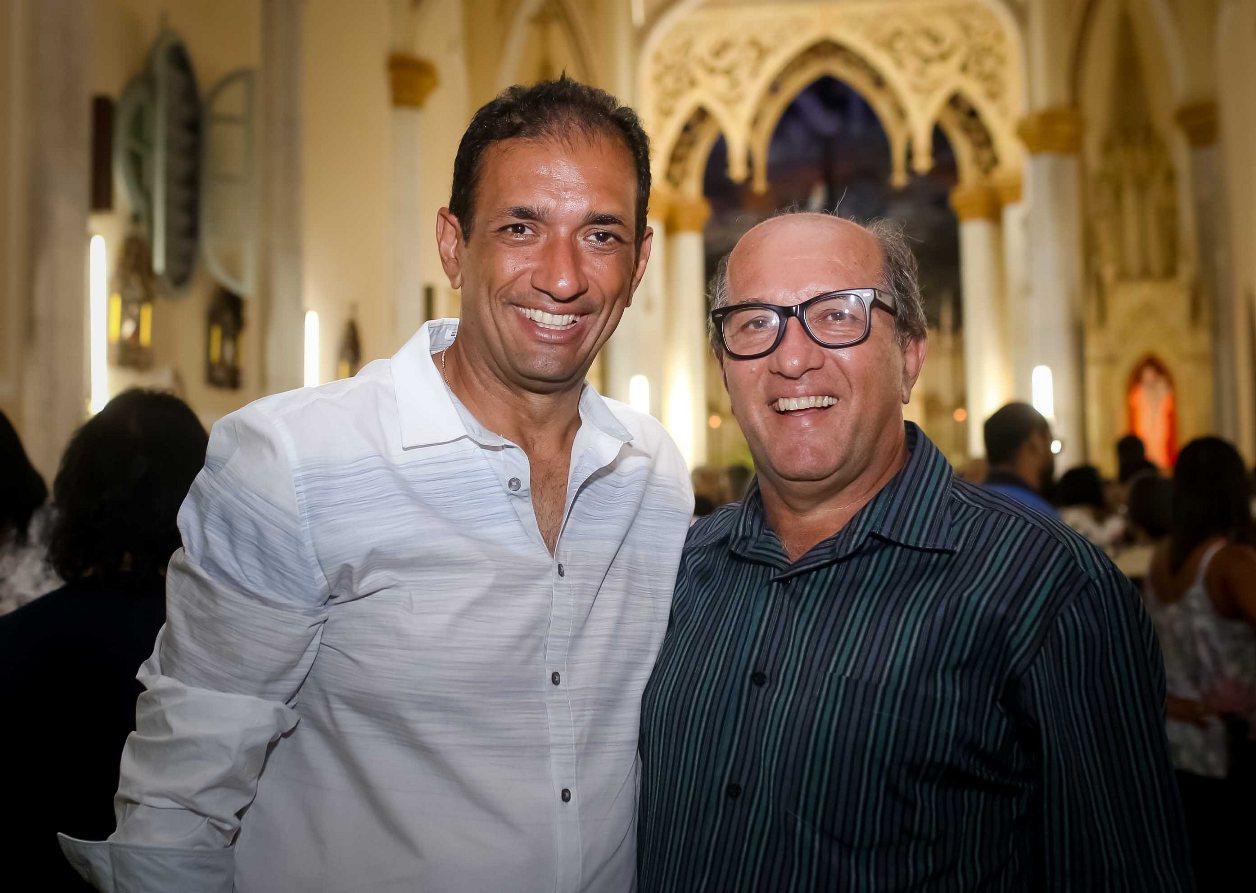 Marão e José Nazal. Imagem: Clodoaldo Ribeiro/Ascom-PSD.