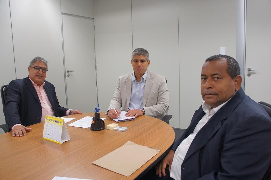 Rosemberg Pinto, Maurício Barbosa e Antônio de Anísio.