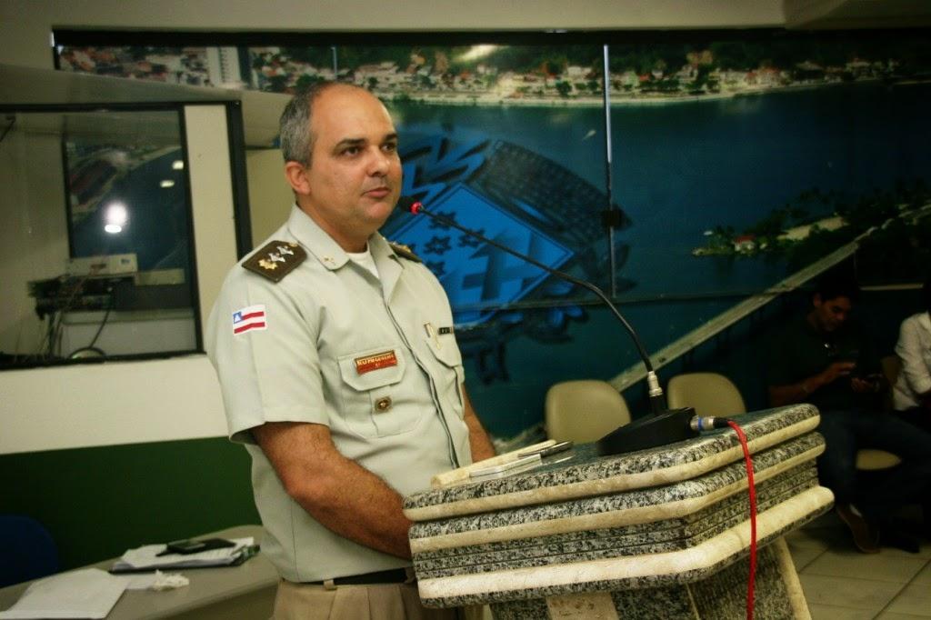 Major Rebouças, diretor do Presídio Ariston Cardoso. Imagem: Ilhéus 24H.