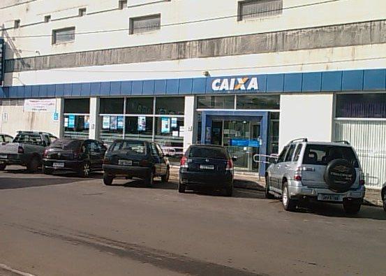 Agência da Caixa Econômica Federal na Avenida Dois de Julho, em Ilhéus.