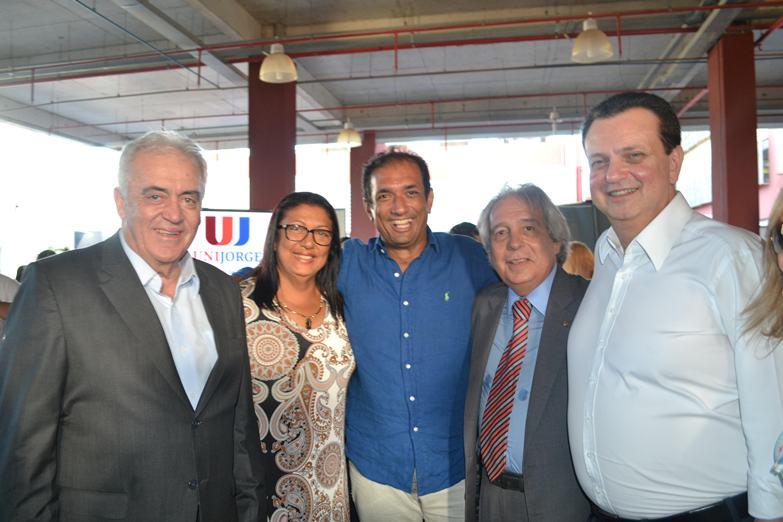 Otto Alencar, Ângela Sousa, Mário Alexandre, Paulo Magalhães e Gilberto Kassab.