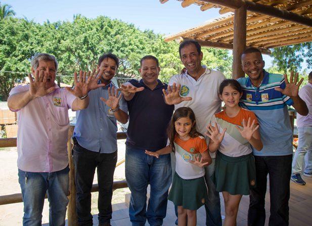 Edinei e Marão durante encontro dessa sexta-feira. Imagem: Clodoaldo Ribeiro.