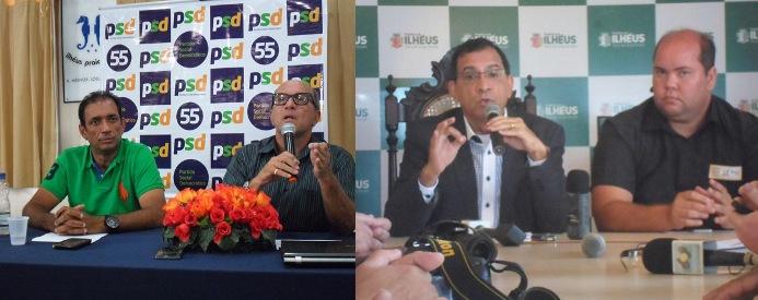 Marão, Nazal, Jabes e Cacá. Imagens: Thiago Dias/Blog do Gusmão.