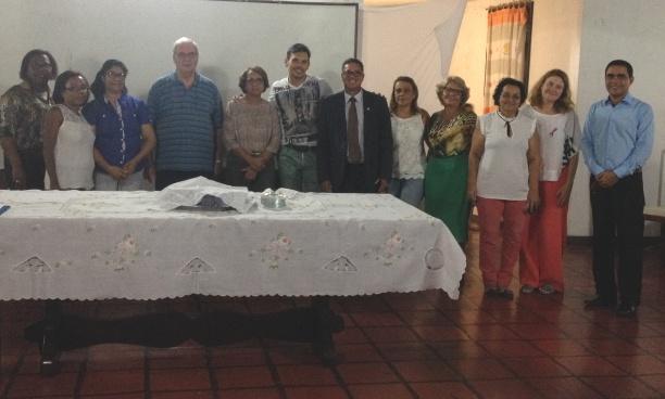 Novos membros da diretoria do Abrigo São Vicente de Paulo.