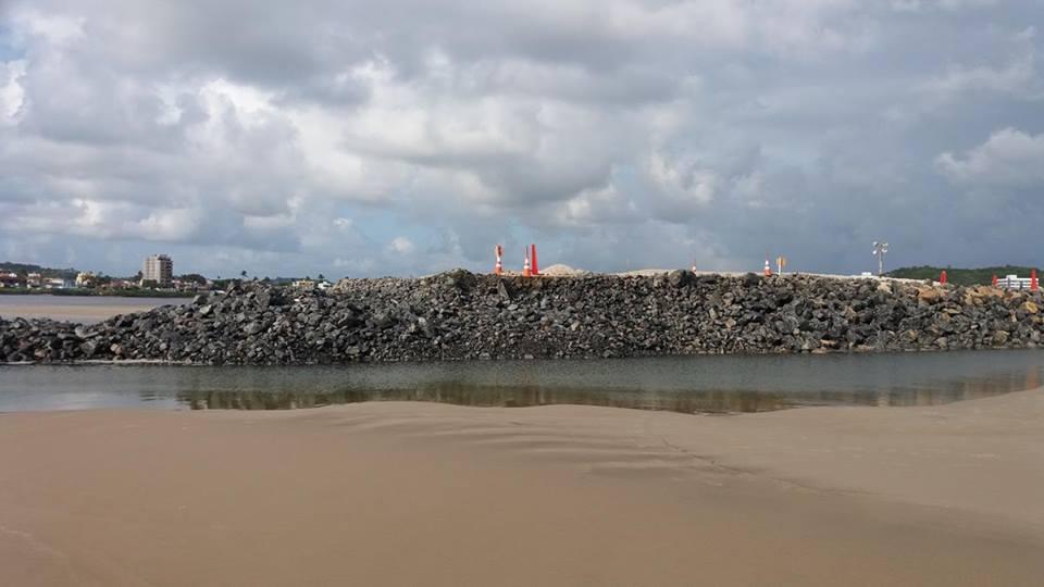 Espigão será removido após etapa da obra. Imagem: José Rezende Mendonça.