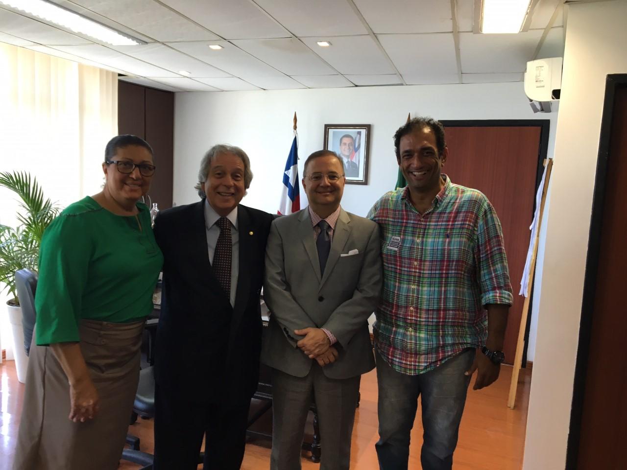 Ângela Sousa, Paulo Magalhães, Fábio Vilas Boas e Mário Alexandre.