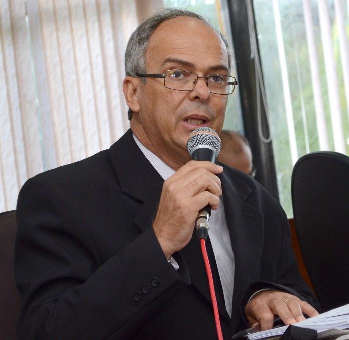 Vereador Júnior Brandão (PT). Imagem: Pedro Benevides/Ascom-Câmara de Itabuna.