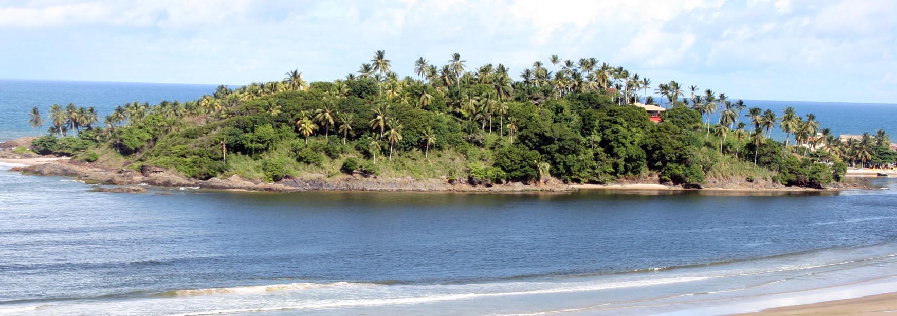 Morro de Pernambuco. Imagem: Gidelzo Silva/Secom-Ilhéus.