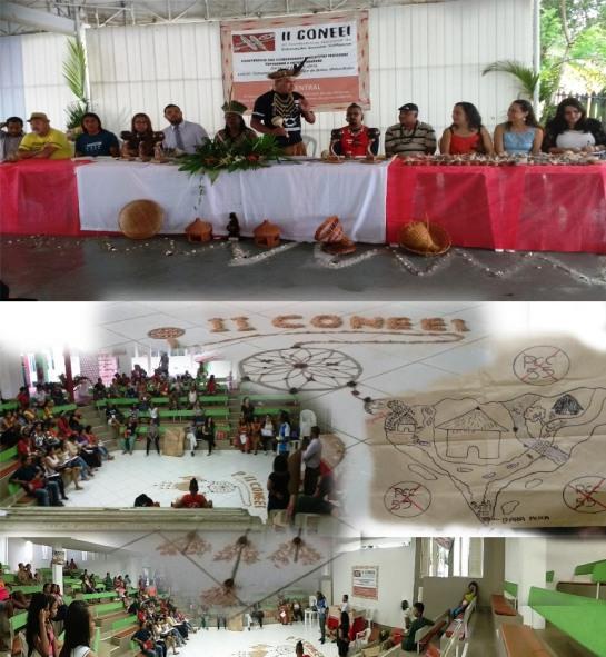 Imagens da conferência realizada no Acuípe.