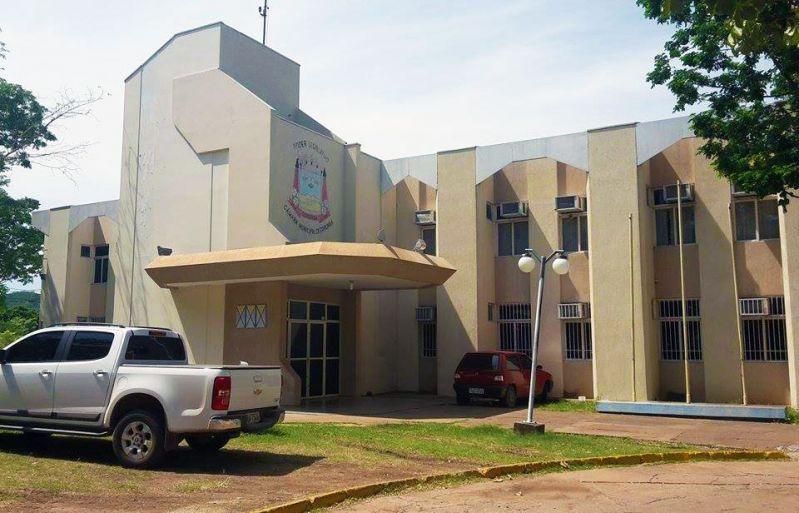 Câmara de Vereadores de Corumbá. Imagem: Erik Silva.