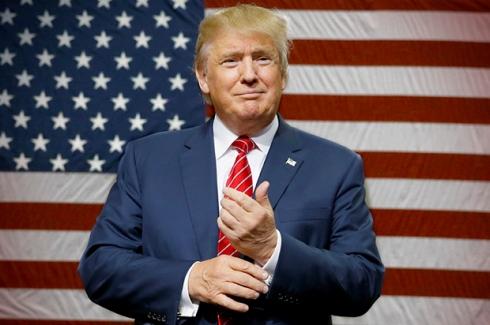Donald Trump, presidente eleito dos EUA.