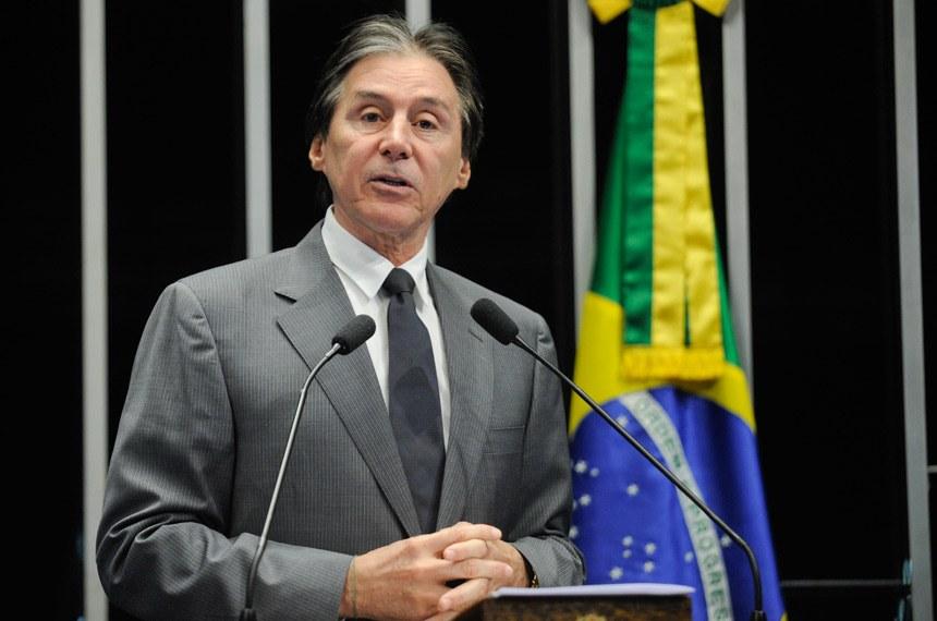Senador Eunício Oliveira (PMDB-CE). Imagem: Ascom-Senado.