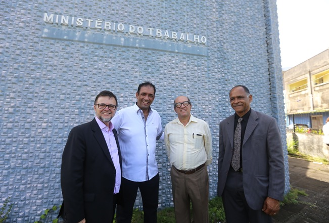 Marão e Nazal acompanharam representante do Ministério do Trabalho durante visita.