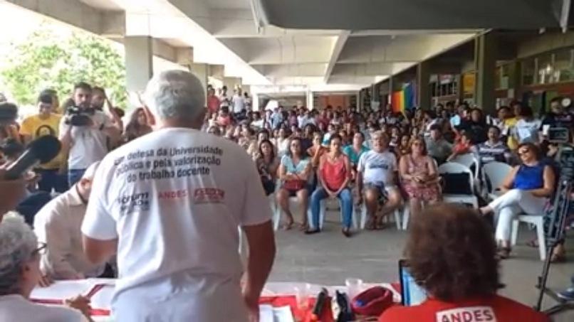 Imagem extraído do vídeo da Rádio UESC.