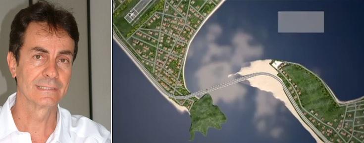 Saulo Pontes explica como projeto orçado inicialmente em 180 milhões de reais vai custar R$ 96 milhões.