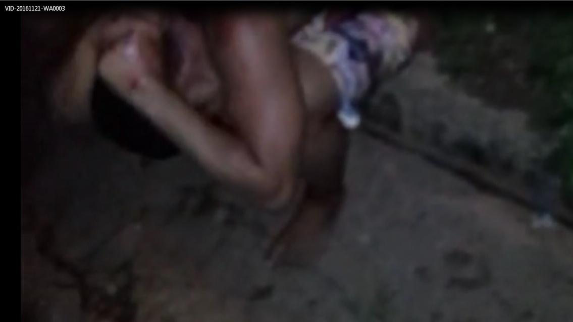 Imagem extraída do vídeo que circula no WhatsApp.