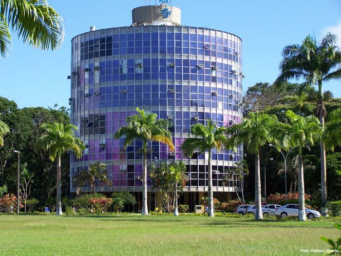 Torre administrativa da UESC. Imagem: Robson Duarte.